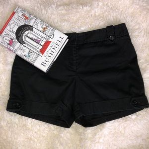 White House Black Market Black Shorts